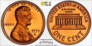 1971-s Pcgs Pr68rd Proof Red Ddo Fs-103 Type 3 Lincoln Penny 1c Us Coin 26671a