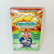 2020 Topps Chrome Garbage Pail Kids Hobby Box, Factory Sealed 1986 Edition