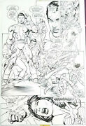 Gil Kane / Kevin Nowlan Wonder Woman Capt. Marvel And The Marvels Metallo 1998