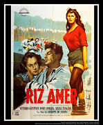 Bitter Rice 4x6 Ft French Grande Original Movie Poster 1949