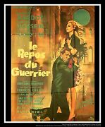 Love On A Pillow A On Linen 4x6 Ft French Grande Movie Poster Original 1962