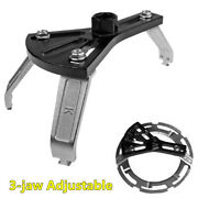 Adjustable 3-jaw Car Fuel Pump Lid Tank Cover Cap Spanner Wrench Removal Tool