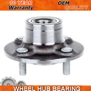 2wd Rear Wheel Hub Bearing Assembly For 1995 -1999 Nissan 200sx Sentra W/o Abs