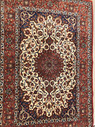 An Awesome Signed Floral Esfahoni Rug 5andrsquo2andrdquo X 3andrsquo6andrdquo