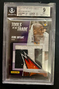 2013 Panini Nscc Kobe Bryant Tools Of Trade Game Used Lava Lakers Only 5 Made