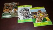 Green Bay Packers Yearbooks Complete Set 1960-2020 Excellent Condition
