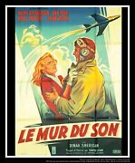 The Sound Barrier 4x6 Ft French Grande Movie Poster Original 1952