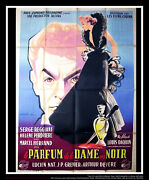 The Perfume Of The ... On Linen 4x6 Ft French Grande Original Movie Poster 1949