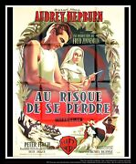 The Nun's Story Style A 4x6 Ft French Grande Movie Original Poster 1959