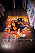 Pulp Fiction Style A 4x6 Ft Vintage French Grande Movie Poster Original 1994