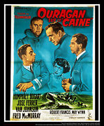 The Caine Mutiny 4x6 Ft French Grande Original Movie Poster 1954