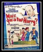 The Trouble With Harry Hitchcock 4x6 Ft French Grande Movie Poster Original 1955