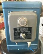 Wizard Western Auto By Parmak Electric Fencer Charger Decor Collectible Vintage