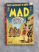 Mad Magazine 9 - Ec February 1954 Bagged Boarded Golden Age
