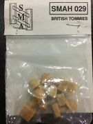 Sma 1/35th Ww2 British Army Tommies Head Sculptures Helmets Resin Accessory