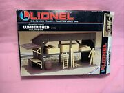 Vintage Lionel 6-12705 Lumber Shed Building Kit - New Old Stock From 1990's Bnib