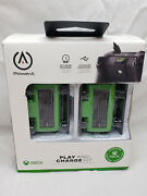 Powera Play And Charge Kit For Microsoft Xbox One 2-pack New / Open Box