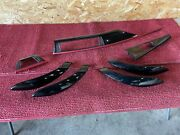 Bmw 12-20 F30 F32 F36 Black High-gloss Trim Molding Dash Door Panel Set Oem 93mk