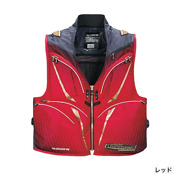 Shimano 2way Best Limited Pro Ve-011s Red M/l/xl Fishing Outdoors Japan New