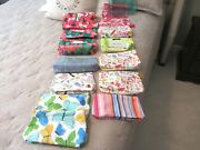 Clinique Cosmetic Bags Makeup Bag Lot Of 15 New