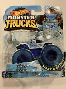 2018 Hot Wheels Podium Crasher Monster Truck With Collectible Wheel