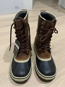 Sorel Womenand039s 1964 Premium Ltr Waterproof Leather Boot -- Size 7