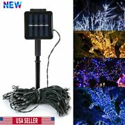 20and100and200 Led Solar String Lights Solar Powered Christmas Fairy String Mt Color