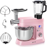 Ailessom Stand Mixer With Meat Grinder And Juice Blender 6 In 1 800w Tilt-head