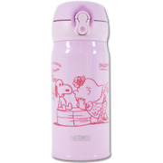 [thermos] Peanuts Snoopy Lightweight Compact Type Mug 0.35l/pink/japan Limited