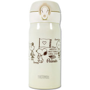 [thermos] Peanuts Snoopy Lightweight Compact Type Mug 0.35l/cream/japan Limited