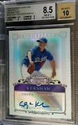 2006 Bowman Sterling Prospects Refractors Clayton Kershaw Auto /199 Bgs 8.5 Rc