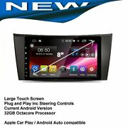 Mercedes Cls 2005-2011 Gps Navigation Apple Carplay Android Auto Cam Bluetooth