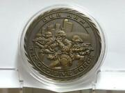 Singapore Military Army Soldiers Best Combat Achievement Bronze Medal Coin C034