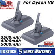 For Dyson 21.6v 5.0ah V8 Battery Animal Absolute Fluffy Handheld Vacuum Cleaners