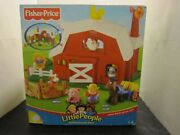 Fisher-price Little People Animal Sounds Farm Brand New Rare And Retired