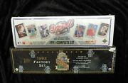 1991 And 1993 Upper Deck Collectors Choice Factory Set Baseball Cards Jeter New