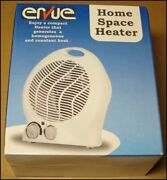 Ervue Home Space Heater And Fan Compact Portable New Open Box Never Used