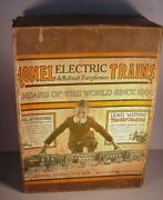 Antique Lionel Train 352 Original Box Standard Gauge 1920and039s Gray Engine And Cars
