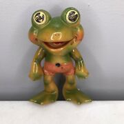 Vintage Frog Squeeze Toy Frog Rempel Ed Mcconnell Akron Oh 6andrdquo
