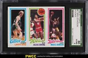 1980 Topps Basketball Larry Bird And Magic Johnson Rookie Rc Sgc 6 Exmt