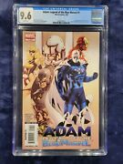 Adam Legend Of The Blue Marvel 1 Cgc 9.6 White Pages - 1st Appearance - Key