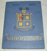 Wwii Military Unit History Book 102 Navy Construction Battalion Seabees 1943-45