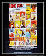 Comic Book Confidential B 24 X 32 French Moyenne Movie Poster Original 1988