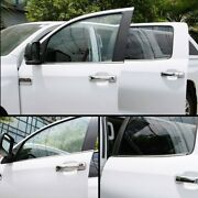 Stainless Steel Bottom Door Window Sill Cover Trim For 2014-2021 Toyota Tundra