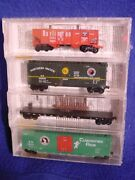 Mtl 21212 Fallen Flag 4 Pack Shrink Wrapped Spands, Gn, Np, Cbandq 'new' N-scale