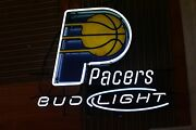 Indiana Pacers Bud Light Neon Sign Used No Box