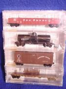 Mtl 23252 Bn Fallen Flag 4-pak Gn Gon Spands Tank Np Boxcbandq Flat' New' N-scale