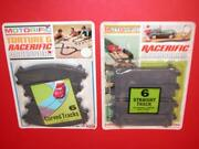 2 Vintage 1960and039s Ideal Motorific Racerific Torture Track Carded Accessory Lot