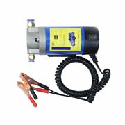 12v Oil Transfer Pump Portable Electric Extractor Fluid Suction Siphon Tool 100w