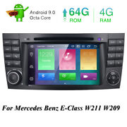 For Mercedes-benz E-w211 7-inch Android 10.0 Car Stereo Dvd Gps Radio Octa-core